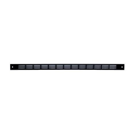 Passage d'air 23 cm² (46 m³/h) - 478/2 RENSON ARGENTA VENTILATION Coloris Noir 9005
