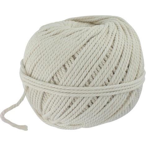 Cordeau de maçon en fil de coton blanc Outibat Longueur (m) 24