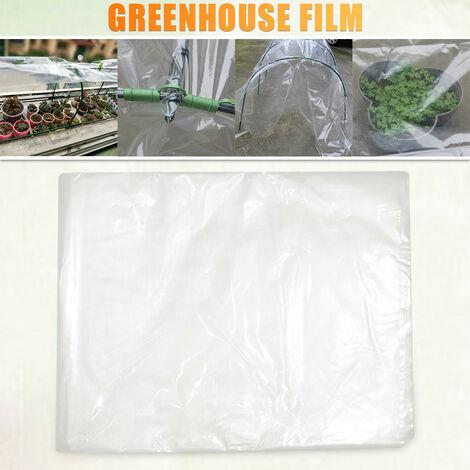 Film plastique transparent en polyéthylène à effet de serre couvrant le film à effet de serre 2m*3m