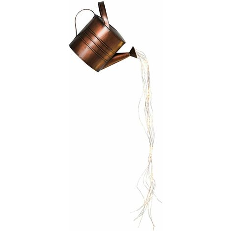 DIY Iron Star Type Douche Jardin Art Douche Lampe Arrosoir Lampe Décoration B - B