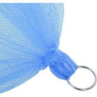 Dentelle ronde lit à baldaquin moustiquaire rideau dôme moustiquaire blanc élégant Bleu ciel - Bleu ciel