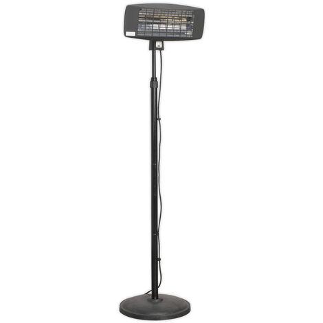 Sealey Ifsh2003 Infrared Quartz Patio Heater 2000W/230V & Floor Stand