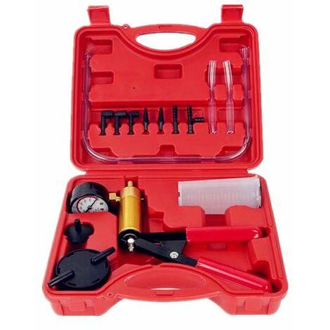betterlife Automotive Manual Vakuumpumpe Automotive Manual Saugpistole Bremsflüssigkeitsdetektor Bremsflüssigkeitsersatzwerkzeug