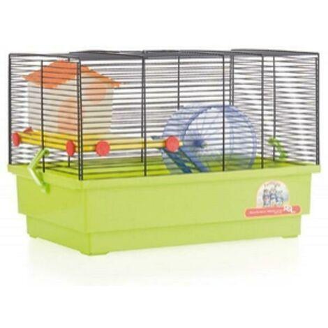 Jaula Hamster Cria - 2 Pisos Blanca RSL