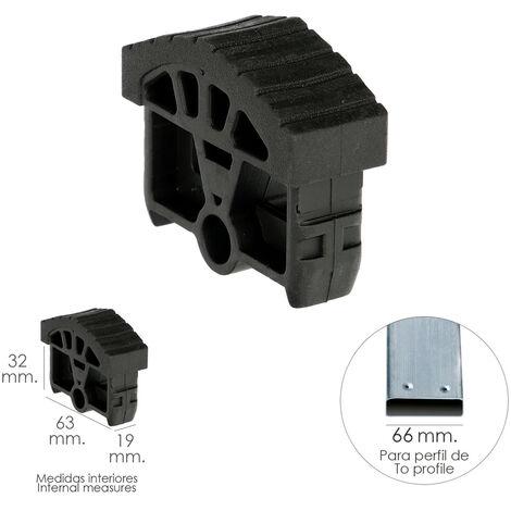 Contera Para Escalera Pronor 2 Tramos Con 10+10 Peldaños ( Perfil 66 mm.)