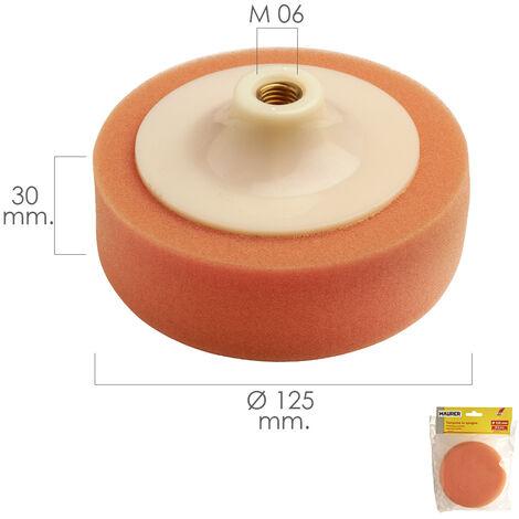 Disco Pulidor Esponja Para Amoladora / Pulidora Ø 125 mm. M14
