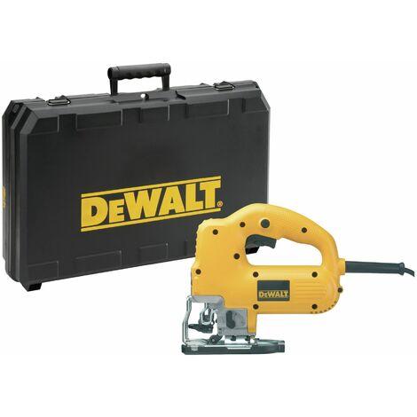 Dewalt DW341K-QS Sierra de Calar 550W Electrónica con puño cerrado + maletín