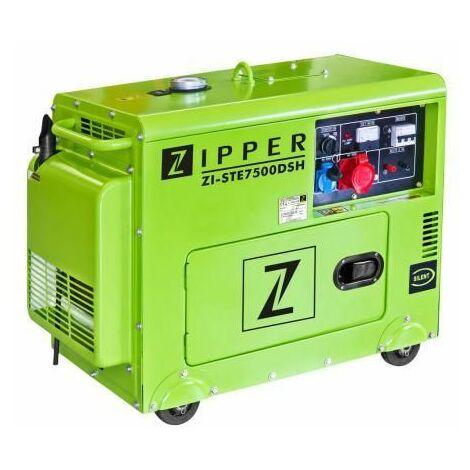 GRUPO ELECTRÓGENO ZIPPER ZI-STE7500DSH