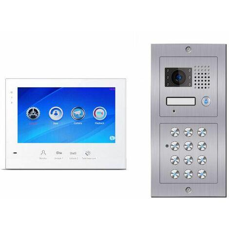 Portier vidéo digicode C601-B