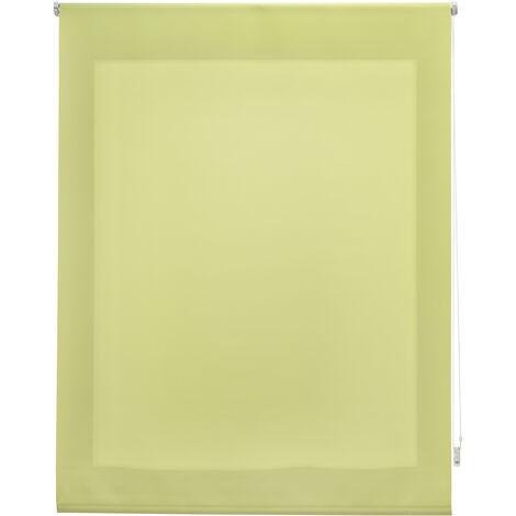 Estor enrollable translúcido liso pistacho 180x250 cm (ancho x alto)