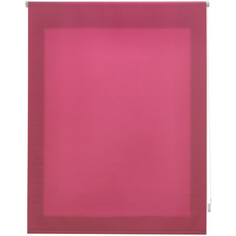 Estor enrollable translúcido liso lila 140x175 cm (ancho x alto)