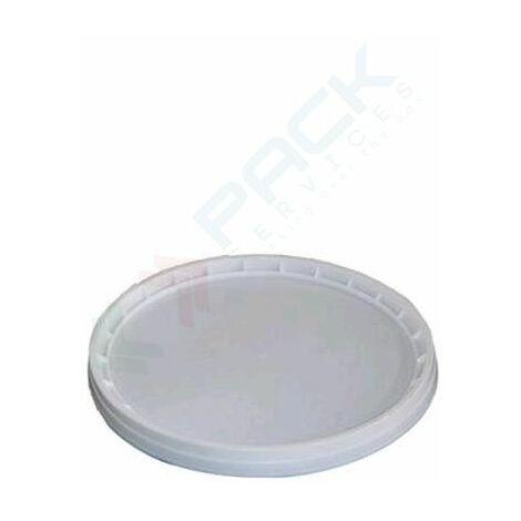 Coperchio in plastica (PP), a pressione con sigillo di garanzia per secchio conico 2,4 Lt (LB02400)