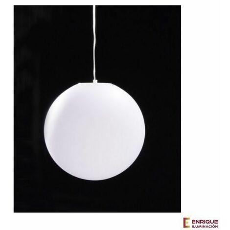 Colgante de exterior de bola Avoriaz Blanco   ø35cm