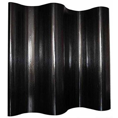 Biombo de bambú negro 200 x 250 cm