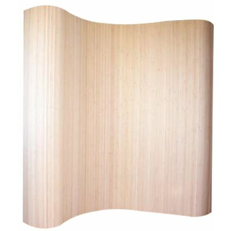 Biombo de bambú natural 200 x 250 cm