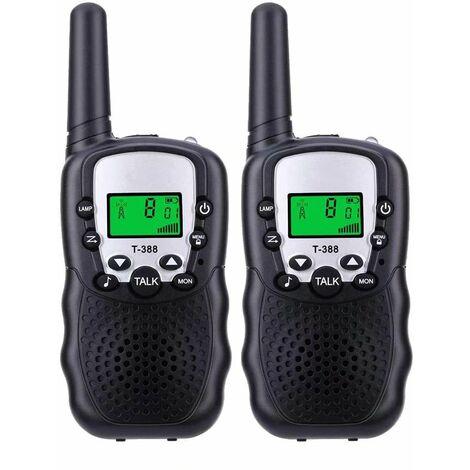 Perle rare 2 petits talkies-walkies pour enfants, petits talkies-walkies pour enfants, talkies-walkies portables
