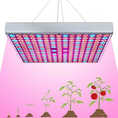 Perle rare Éclairage des plantes, lumière de croissance des plantes, lumière des plantes LED à spectre complet 45W, lumière d'appoint