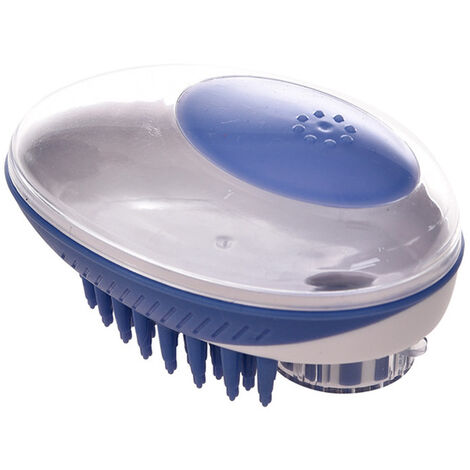 Perle rare Brosse de bain pour animaux de compagnie Brosse de massage moyenne et petite pour chats et chiens