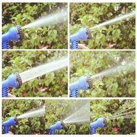 Perle rare Tuyau d'arrosage, tuyau d'arrosage à rallonge magique de, connecteur rapide avec tuyau d'eau, tuyau de protection en tissu extra-résistant, qui peut répondre à tous vos besoins d'arrosage (bleu 50FT)