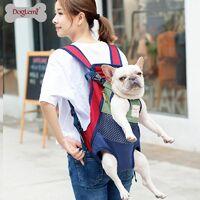 Perle rare Sac à dos pour chien - un sac à dos pour animaux de compagnie avec les jambes tournées vers l'avant, adapté aux petits et moyens chiens de grande taille, sac de voyage pour chat mains libres approuvé par les compagnies aériennes, vélos et motos