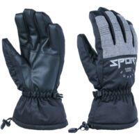 Perle rare Gants chauds gants d'extérieur gants de ski alpinisme cyclisme gants de fitness mitaines à cinq doigts M