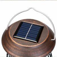 Perle rare Suspension solaire portable tueur de moustique lampe de moustique tueur de moustique extérieur étanche pelouse jardin lampe
