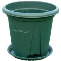 Perle rare Pot de montagne vert en gros contrôle des racines Pot de fleur anti-pourriture racine grand pot de fleur en plastique accessoires de jardinage