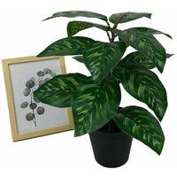 Perle rare Plante artificielle simulation de fleur faux en pot grand paon tournesol plante verte en pot simulation plante fleur
