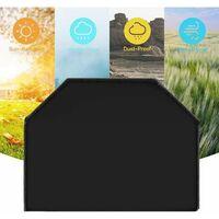 Perle rare Couvercle de grill à la cuve d'extérieur de mobilier à la poussière Barbecue Couverture Grill Couvre-écran Regensproof Cache solaire 100x60x150cm