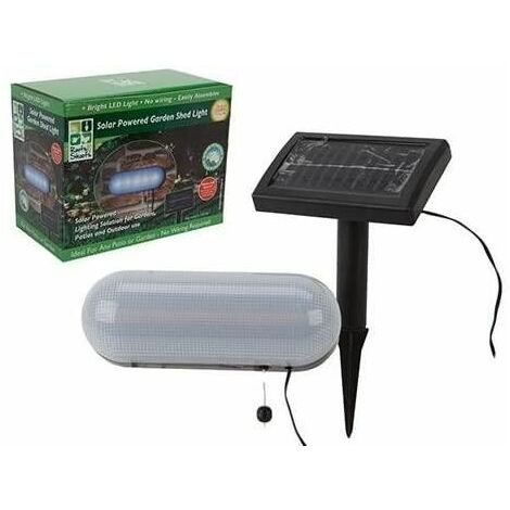 Roots & Shoots Eco friendly solar powered shed light