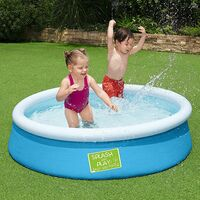 Bestway Fast Set Swimming Pool, 6x20 for Kids and Adults, Assorted Colours