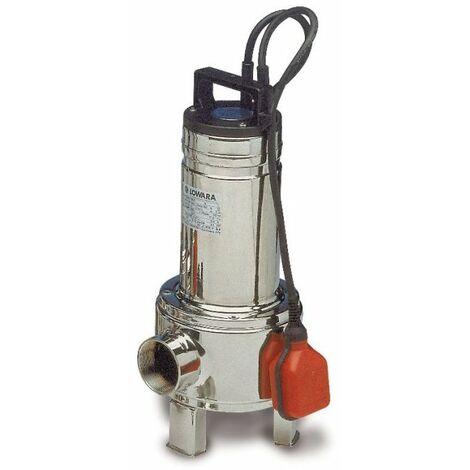 Lowara Pompe de relevage immergée eaux usée Matières En Suspension DOMO15 mono 1,1 Kw Roue Bicanale INOX  avec Flotteur automatique