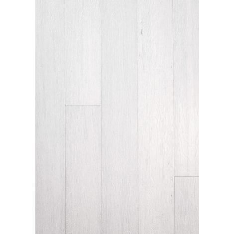 Parquet Massif Bambou Haute Pression - Façon Chêne Blanc Intense - Compatible Pièces Humides - larg. 13 cm | 2.40 mètre carré