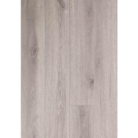 Lame vinyle rigide clipsable avec sous couche intégrée- Megève - Teinte chêne gris | 1.56 mètre carré