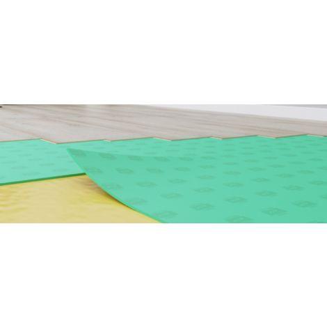 Sous couche isolante Secura Extra Smart en plaque - 3 mm - 19 Db-10 m²/colis | 10.00 mètre carré
