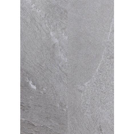 Dalle pvc clipsable avec sous couche intégrée - Ocean - coloris Ardoise- 30,3 x 60,6 cm   1.83 mètre carré