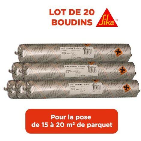 "main image of ""Kit colle parquet Sika Adheflex 20 Boudins de 600 ml"""