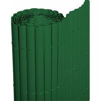 Cañizo PVC de media caña (Verde). Varias medidas - 1x3 metros -