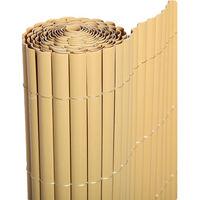 Cañizo PVC de media caña (Bambú). Varias medidas - 1x3 metros -
