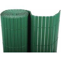 Cañizo PVC doble cara (verde). Varias medidas - 1x3 metros -