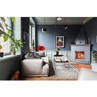 Peinture murale sans odeur /couleur : gris acier / qualité professionnelle  application facile, séchage rapide / MadeInNature®