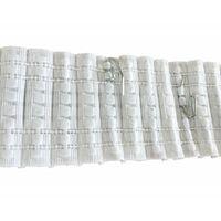 Agrafe Escargot Plastique pour Rideaux Acier Zingué Vendu par 20