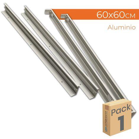 Marco de superficie para paneles LED 60x60 | Pack 1 Ud. - Pack 1 Ud.