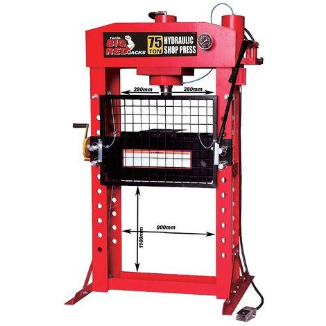 Presse Professionnelle 75 Tonnes Hydraulique et pneumatique