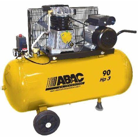 Compresseur air bicylindre  90L 3CV monophasé