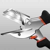 COOFIX Cisaillement d'angle  45-120 degrés Ciseaux à main de tuyau en plastique PVC PE multifonctionnels
