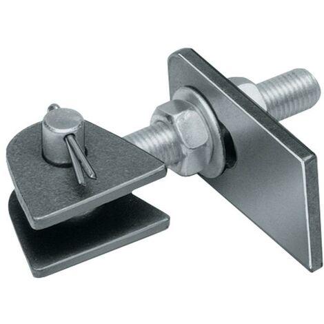 Verstellbares Torband 135x19x44x120x25x45x12x6mm Stahl roh