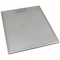 2 x Universal Cooker Hood Metal Grease Filter 253mm x 300mm