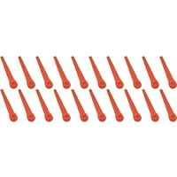 Flymo SimpliTrim Li Plastic Strimmer Trimmer Blades Pack of 20