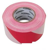 TIMCO HAZT PVC Hazard Tape 50mm x 33m Black//Yellow